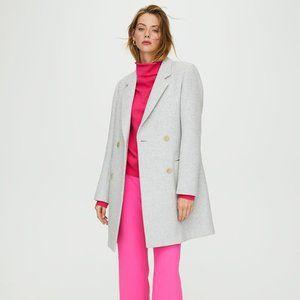 Aritzia Wilfred Harrington Wool + Cashmere Coat